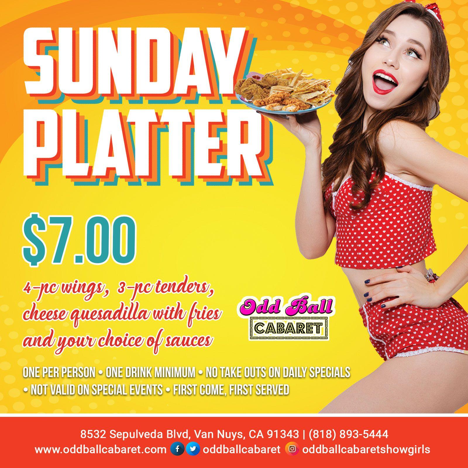 SUNDAY Platter